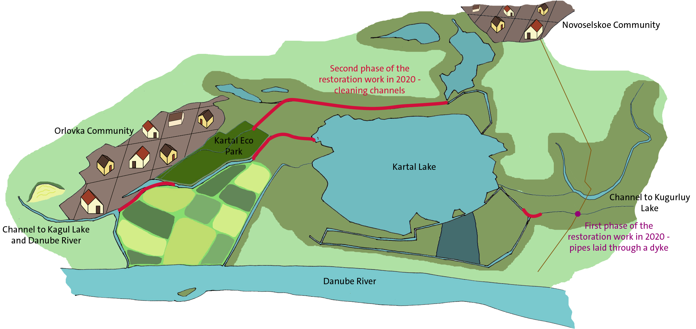 Map_Kartal Lake restoration